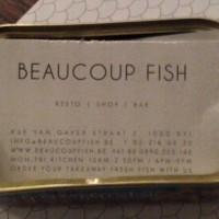 Restaurant 'Beaucoup Fish', Brussel